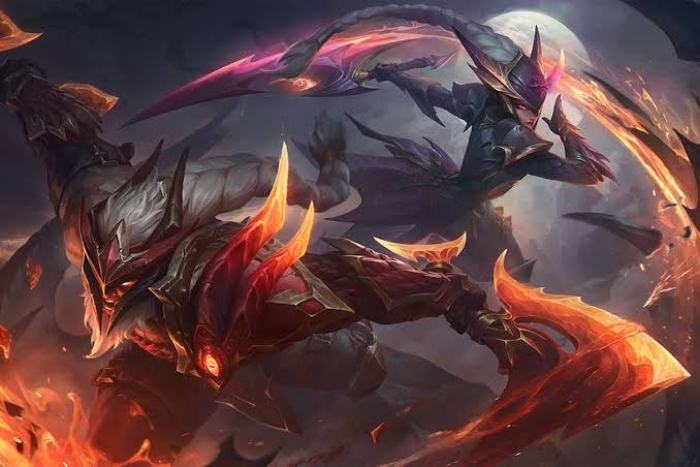 The release of the Dragonslayer new league of legends skins.