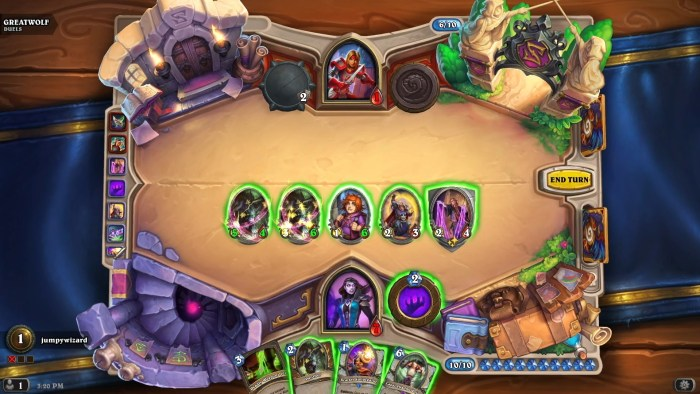 hearthstone duels gameplay