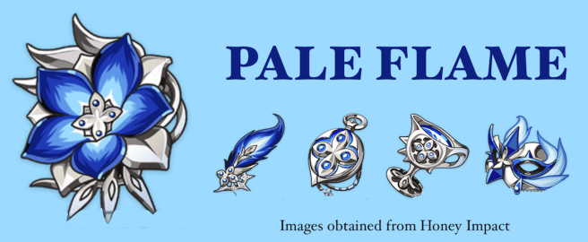 Pale Flame - Genshin Impact