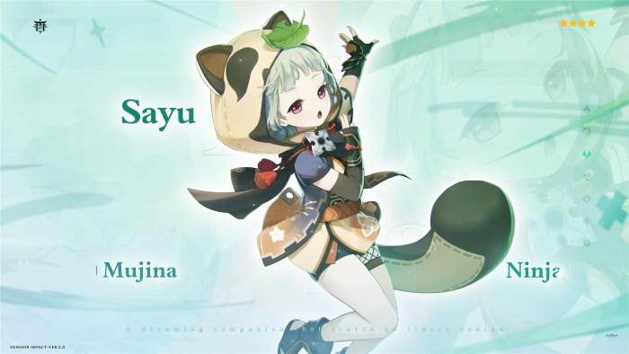 Genshin Impact Sayu