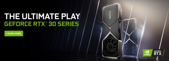 Learn more about the NVIDIA 3000 series