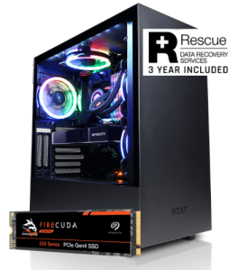 Cyberpower Gaming PC with Seagate Firecuda SSD