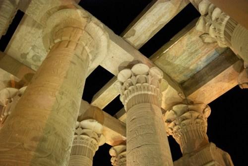 Colonnes du Temple de Kôm Ombo @ Kôm Ombo - Egypte
