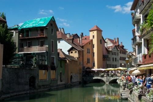 Vieille ville @ Annecy (Juillet 2010)