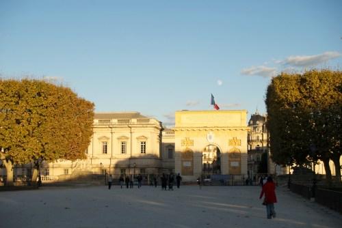 L'Arc de Triomphe depuis la Promenade du Peyrou @ Montpellier, France (20.10.2010)