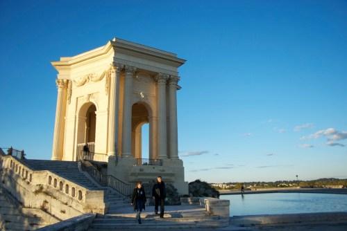 Le Réservoir d'eau sur l'Esplanade du Peyrou @ Montpellier, France (20.10.2010)