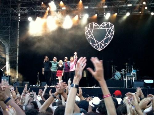 Coeur de Pirate @ Musilac / Aix-les-Bains (2010)