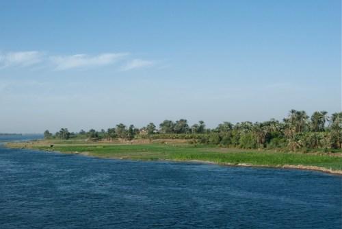Le Nil @ Edfu, Egypte (2009)