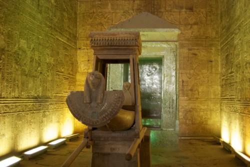 Barque sacrée @ Edfu, Egypte (2009)