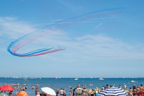 La Patrouille de France lors du meeting aérien @ Palavas-les-Flots (2011)