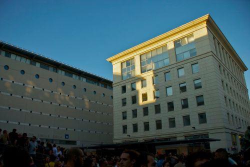Place Dionysos pendant le Tohu-Bohu, Montpellier (21 juillet 2011)