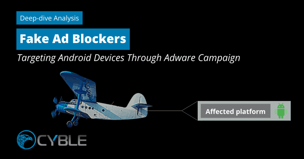 Cyble_Adware_Fake_Ad blocker_Android
