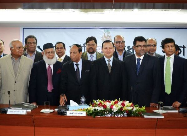 Mr. Md. Sabur Khan, Chairman of Daffodil Group took over the charge as President of Dhaka Chamber of Commerce and Industry (DCCI)