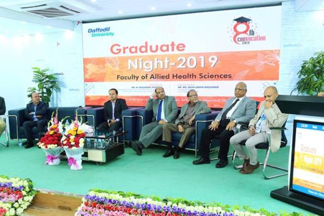 Graduate Night-2019 @ Faculty of Allied Health Science (FAHS)
