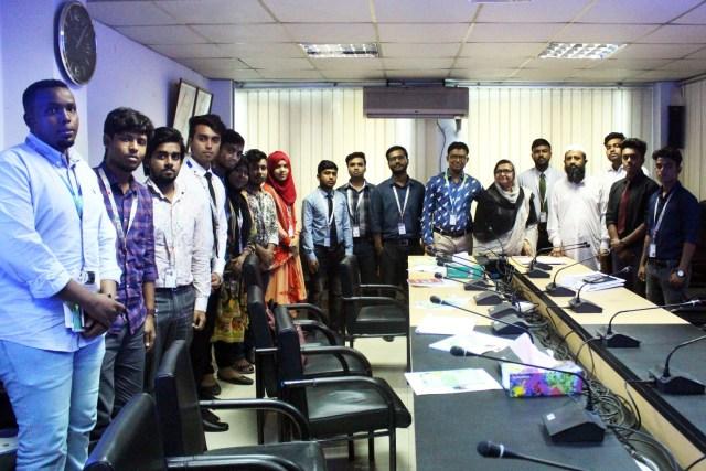 Department of Real Estate, DIU conducted an industrial visit at Urban Development Directorate