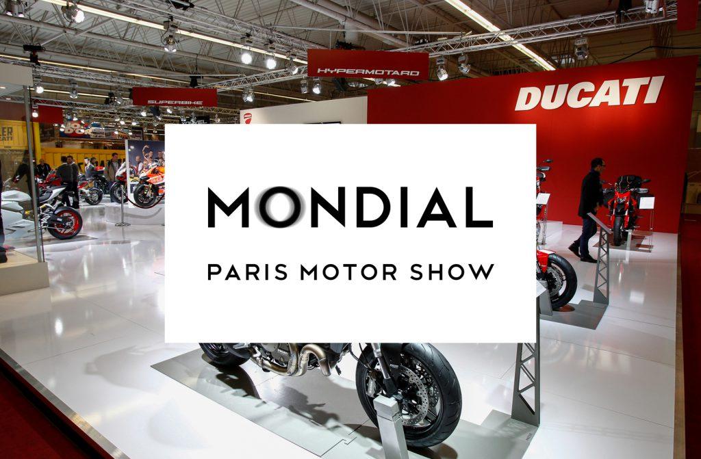 Le Mondial De La Moto Au Mondial De L'auto En 2018