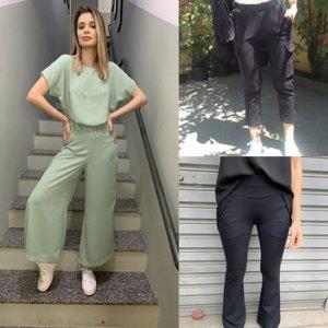 Coleção de calças femininas