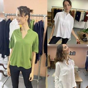 Coleção de Camisas Femininas