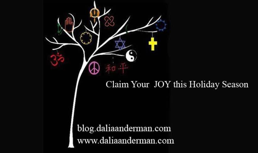 Claim Your JOY this Holiday Season