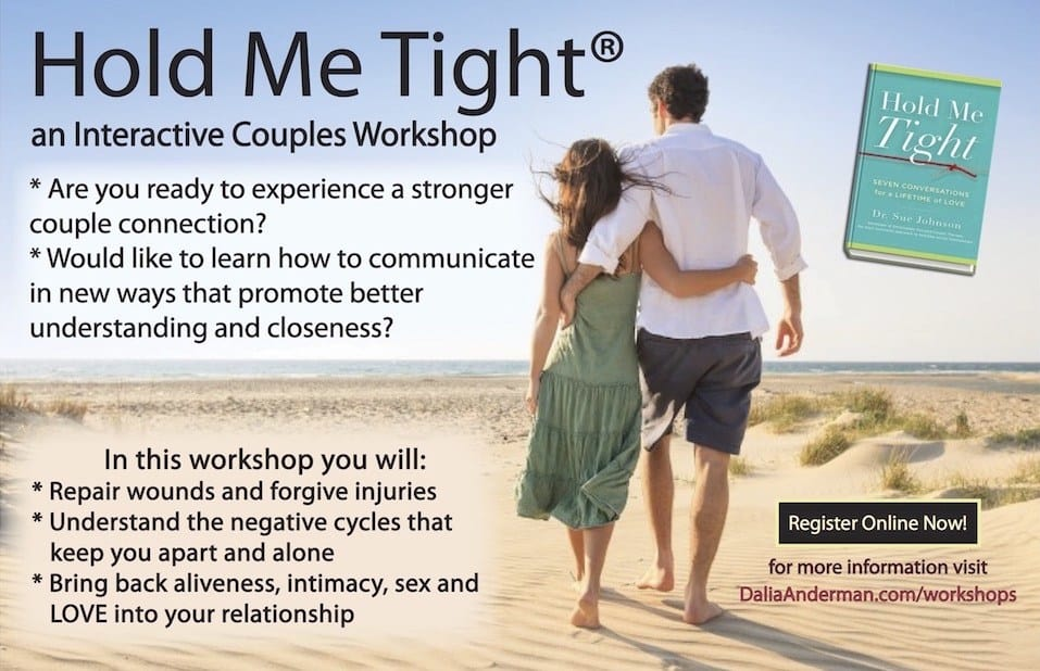 Hold Me Tight Workshop