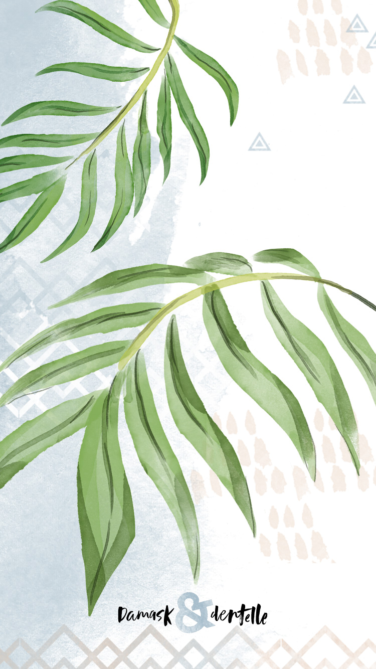 Fall Leaf Pattern Wallpaper Tropical Desktop Wallpaper Download Interior Design