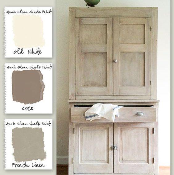Comment Peindre Un Meuble En Bois Cire   Chambre Sous Pente ...