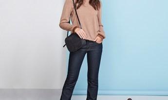 Calça jeans para mulheres altas