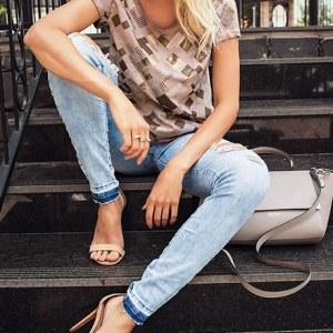 Jeans tendência da nova temporada