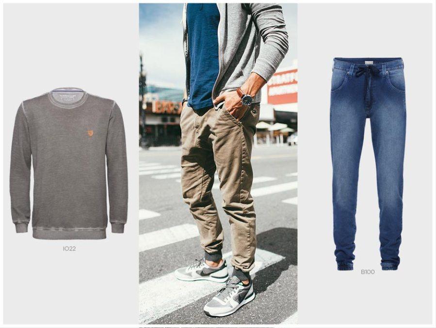 moletom masculino e calça jogger