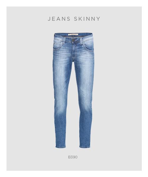Calça jeans skinny masculina - peça essencial