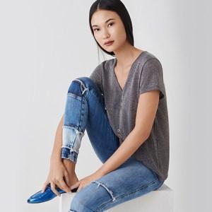 Jeans com patchwork: a melhor aposta para os looks de verão