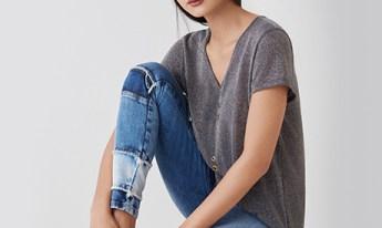 jeans patchwork tendencia verao