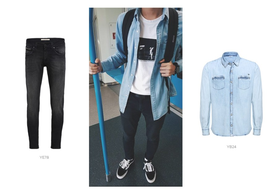 look jeans masculino