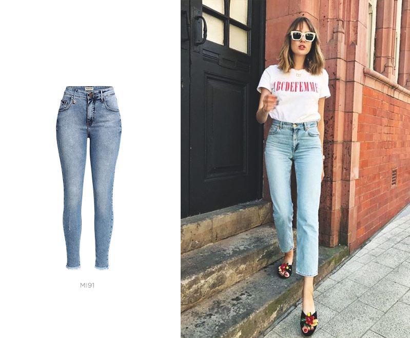 look cool com calça jeans