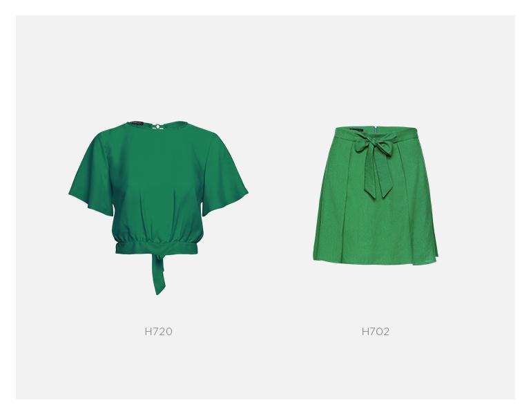 conjunto verde damyller