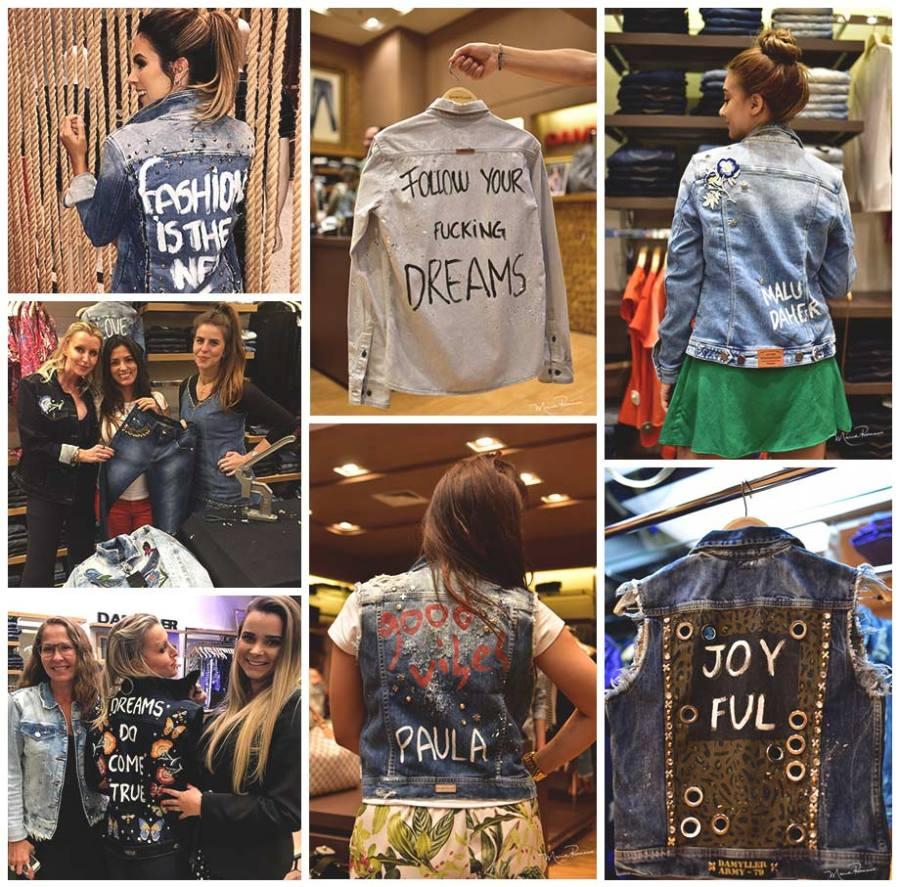 jeans customizado Damyller