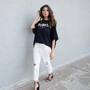 Calça jeans e camiseta: a dupla mais cool