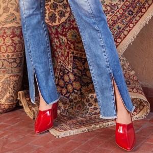 Alerta de tendência: calça com fenda
