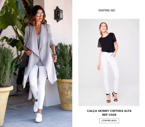 Looks claros com calça branca