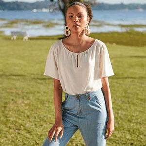 Jeans e Linho: o combo certeiro do verão