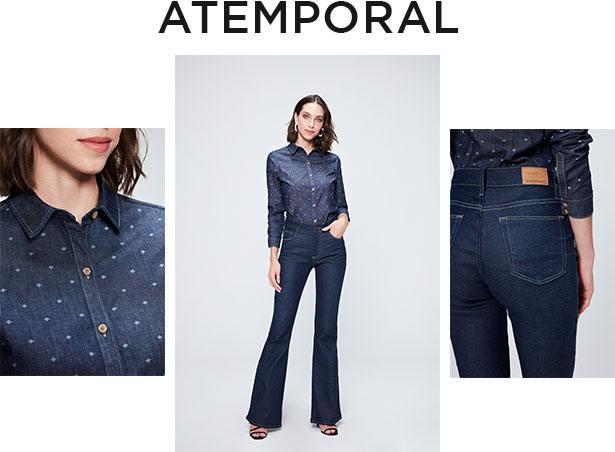 Jeans atemporal e consciente