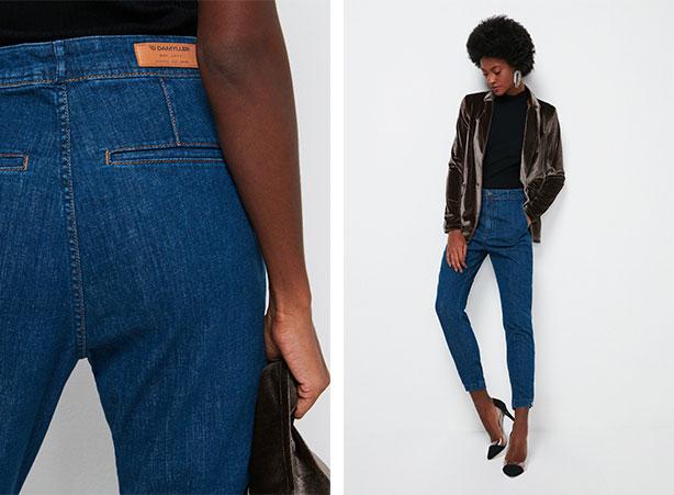 Calça chino jeans