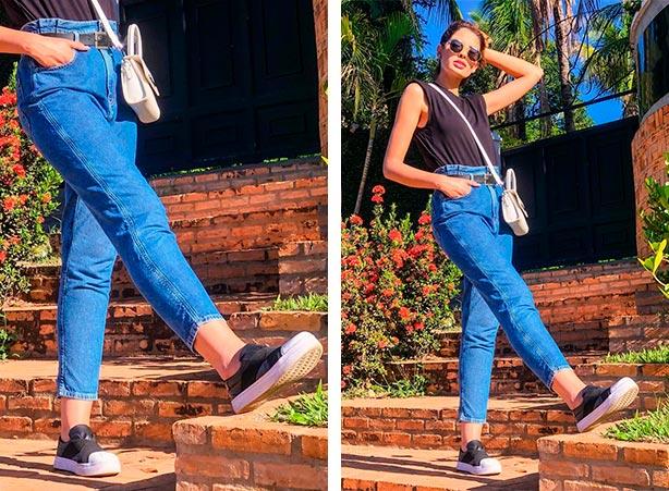 Clochard jeans com muscle tee