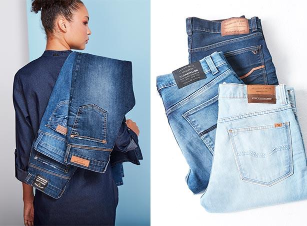 Lavagem do jeans