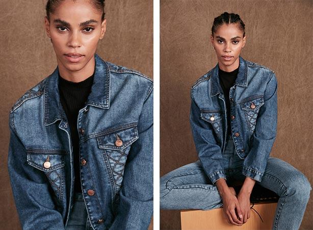 Presentes para o dia das mães: Jaqueta e calça jeans