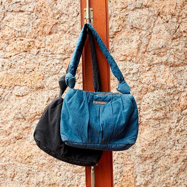 Presentes para o dia das mães: Bolsa jeans de ombro