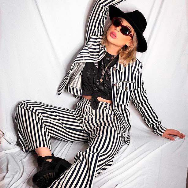 Outfit de rockeira
