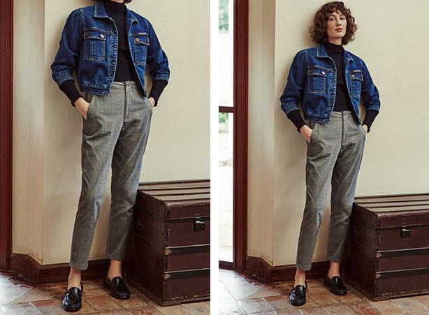 Look inverno 2021 com calça alfaiataria