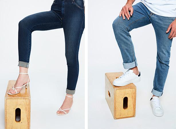 Como dobrar a barra da calça - Passo 06