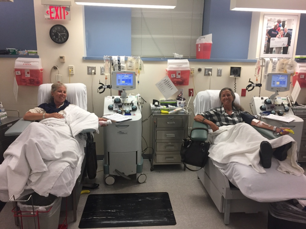 Platelet Donations Mean Sisterly Bonding for These ...